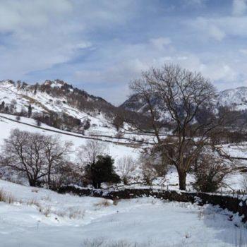 Snow in Borrowdale